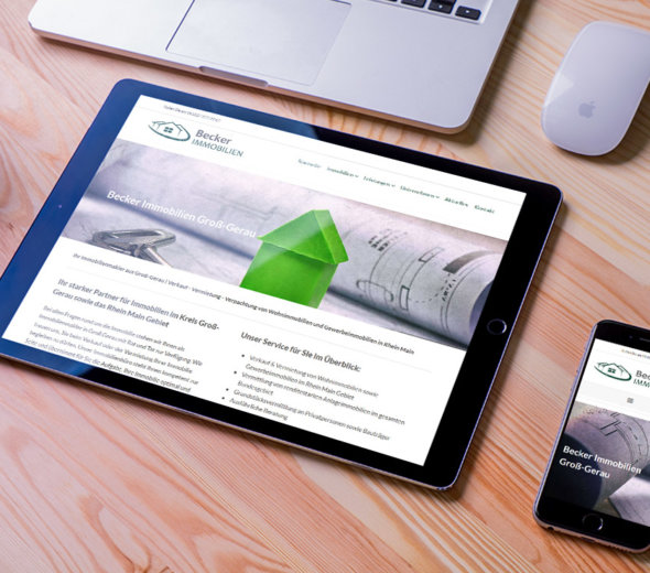 webdesign – becker-immobilien