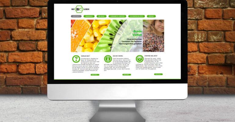 webdesign – bio