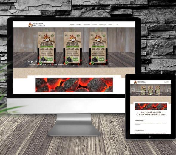 webdesign – bio-grillkohle