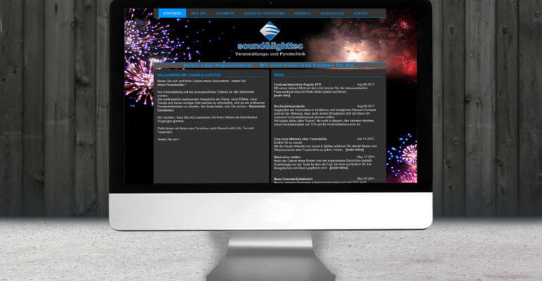 webdesign – soundandlighttec