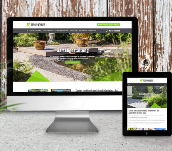 webdesign – rodenheber-galabau